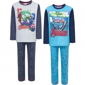 PAJAMAS COTTON two-Piece MARVEL AVENGERS - 4 6 8 10 years