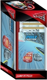 SET CANCELLERIA  25 PEZZI - DISNEY CARS