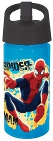 BOTTLE, Plastic with Spout, Folding MARVEL - SPIDERMAN