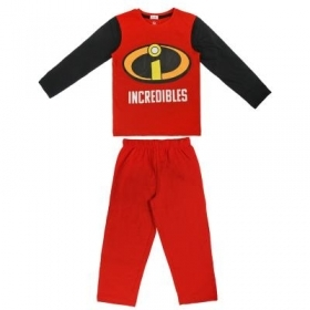 PAJAMAS COTTON two-Piece THE INCREDIBLES -3 4 5 6 7 years