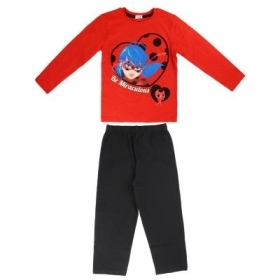 PYJAMA 2 Pieces, MIRACULOUS LADYBUG - 4 6 8 years Fall/Winter