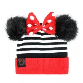 HAT With pom-POM - DISNEY MINNIE mouse to
