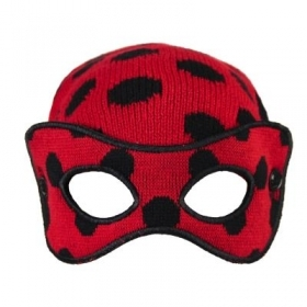 Winter HAT - Mask- MIRACULOUS LADYBUG