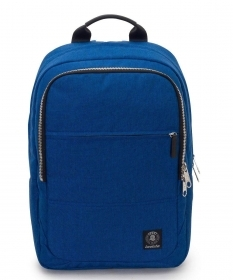 BACKPACK BAG WORK, INVICTA OFFICE BIZ BLUE - pocket pc port - 20 LT