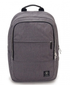 BACKPACK BAG WORK, INVICTA OFFICE BIZ GREY - pocket pc port - 20 LT