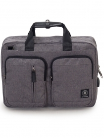 "BAG WORK INVICTA BUSINESS PACK - PC Port up to 15.6"" - GREY"