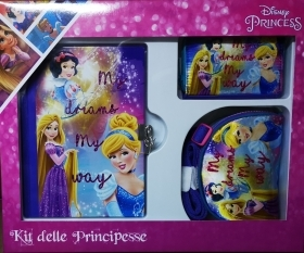 SECRET DIARY with PURSE AND WALLET, DISNEY - PRINCESSES
