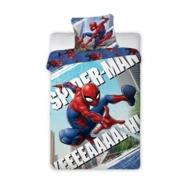 Duvet cover Bed MARVEL SPIDERMAN 140 x 200 cm and pillow case 70 x 90 cm