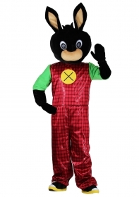 Costume Mascot Bunny Rabbit black