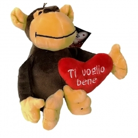 PLUSH GORILLA VALENTINE\'s day
