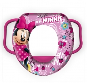 WC WATER FOR CHILDREN SOFT SEAT COVER WATER DISNEY MINNIE