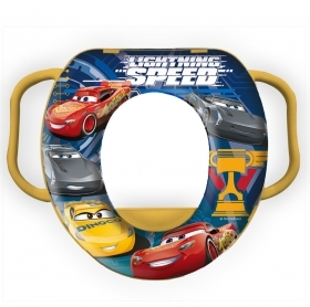 WC WATER FOR CHILDREN SOFT SEAT COVER WATER - DISNEY - CARS