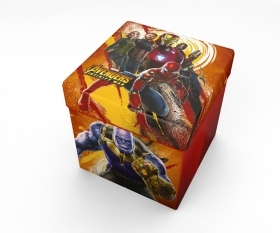 Pouf Container with Pillow MARVEL AVENGERS new