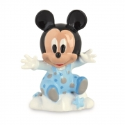 Wedding FAVOR Resin with SHOPPER - DISNEY MICKEY Mickey mouse on Cloud - 9 cm