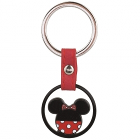 KEYCHAIN METAL DISNEY MINNIE mouse - 8 cm