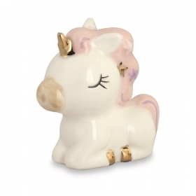CANDY box Porcelain UNICORN - 4.1 Cm