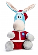 Plush Mascot Christmas - SSC NAPOLI - Official and Original - 30 cm
