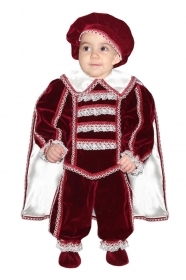 DRESS COSTUME CARNIVAL Mask INFANT - LITTLE ROMEO LUXURY