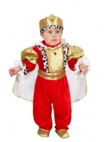 DRESS COSTUME CARNIVAL Mask INFANT - LITTLE KING