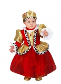 DRESS COSTUME CARNIVAL Mask NEWBORN - LITTLE QUEEN