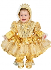 DRESS COSTUME CARNIVAL Mask NEWBORN - PRINCESS BELLE