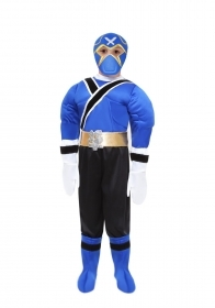 DRESS COSTUME CARNIVAL Mask - POWER NINJA ROYAL