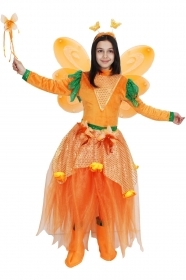 DRESS COSTUME CARNIVAL Mask Girl - BUTTERFLY LUXURY