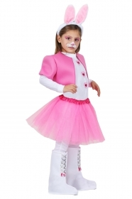 DRESS COSTUME CARNIVAL Mask - Doll BUNNY