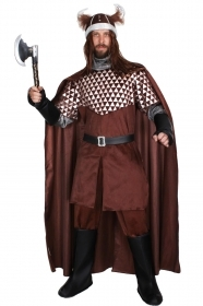 DRESS COSTUME CARNIVAL Mask Adult - WARRIOR VIKINGO