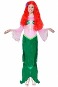 DRESS COSTUME CARNIVAL Mask Adult - MERMAID