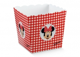 Box Vase brings Confetti Candy DISNEY - MINNIE red