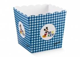 Box Vase brings Confetti Candy DISNEY - MICKEY mouse blue