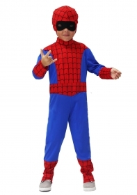 DRESS COSTUME Mask CARNIVAL BABY - boy spider