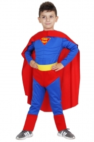 DRESS COSTUME Mask, CARNIVAL CHILDREN - SUPER HERO