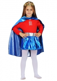 DRESS COSTUME CARNIVAL Mask GIRL - Super girl
