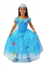 DRESS COSTUME CARNIVAL Mask GIRL - Cinderella party