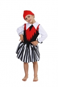 DRESS COSTUME CARNIVAL Mask GIRL - PIRATE