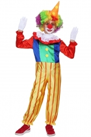 DRESS COSTUME Mask CARNIVAL BIMBO the Clown - Clown