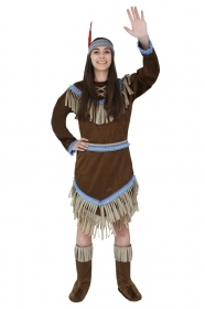 DRESS COSTUME CARNIVAL Mask Adult - INDIAN APACHE