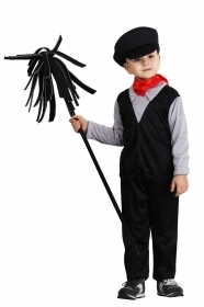 DRESS COSTUME CARNIVAL Mask Child - chimney Sweep