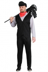 DRESS COSTUME CARNIVAL Mask Adult - chimney Sweep