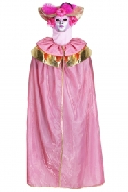 DRESS COSTUME CARNIVAL Mask Adult DOMINO Venetian pink
