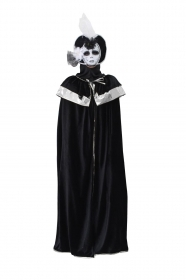 DRESS COSTUME CARNIVAL Mask Adult DOMINO Venice black