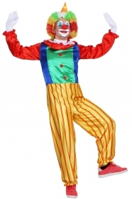 DRESS COSTUME CARNIVAL Mask Adult the CLOWN - CLOWN