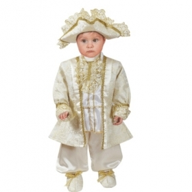 DRESS COSTUME Mask CARNIVAL BABY - LOUIS XIV