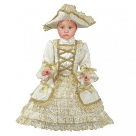 DRESS COSTUME CARNIVAL Mask NEWBORN - QUEEN marie ANTOINETTE
