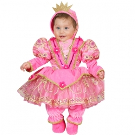 DRESS COSTUME CARNIVAL Mask NEWBORN - LITTLE PRINCESS