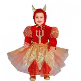 DRESS COSTUME CARNIVAL Mask NEWBORN - DIAVOLETTA