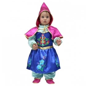 DRESS COSTUME CARNIVAL Mask - PRINCESS Anna