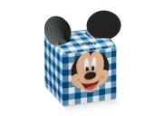 Wedding favour POUCH Box-porta Confetti DISNEY - Mickey mouse-MICKEY blue